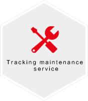 Tracking maintenance service